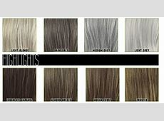 Envy Wig Collection Color Charts Number 1 100 Chart
