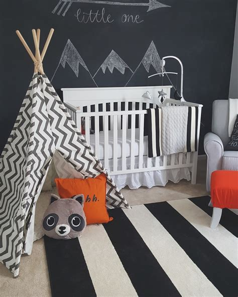themes for black boy fawn over baby modern black white woodland themed nursery