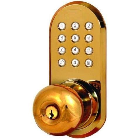 Wireless Door Knob by Wireless Door Lock Remote Door Knob With Keypad Ebay