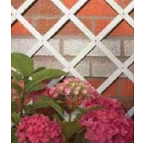 traliccio estensibile traliccio da giardino in legno bianco