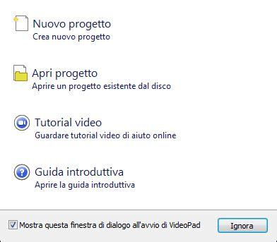 tutorial su videopad aiutamici com