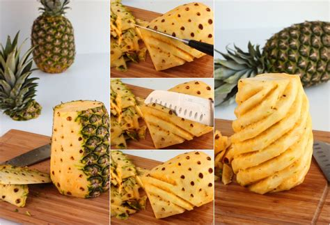how to prepare pineapple produce made simple