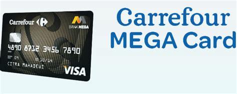 membuat kartu kredit di bank mega pengalaman membuat kartu kredit mega carrefour begini