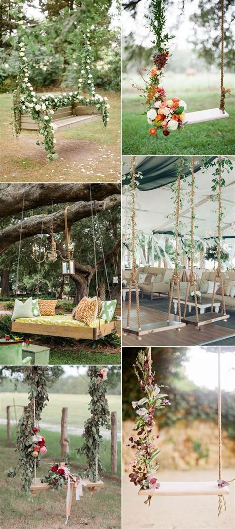 married swing best 20 wedding swing ideas on wedding