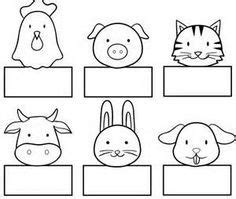 paper finger puppets templates animal paper finger puppet patterns images paper