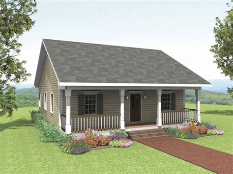 bedroom bungalow plans small  bedroom cottage house
