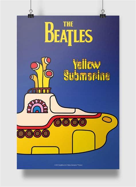 Kaos The Beatles Logo 69 201 poster the beatles yellow submarine