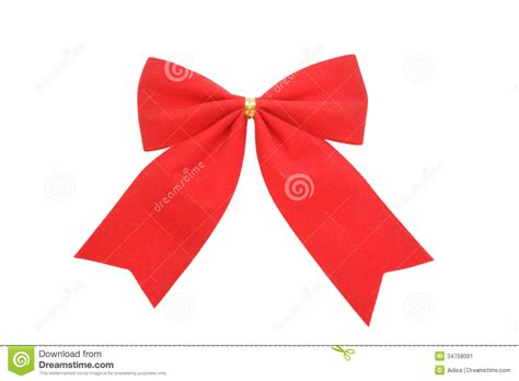 red bow stock image image 34758091