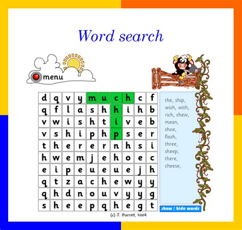 sh pattern words choose a spelling pattern e g words containing ch sh