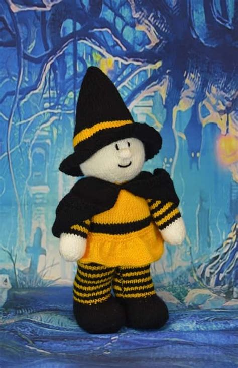 witch knitting pattern witch festive friend knitting by post