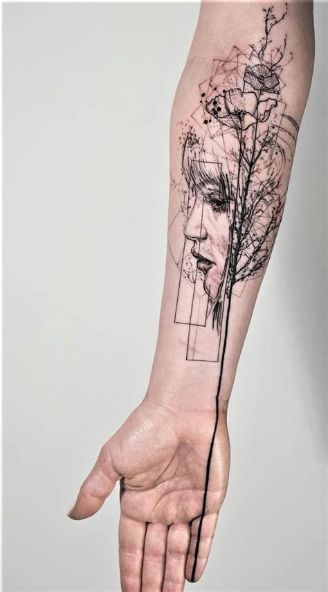 graphic design tattoo is the road to awe graphic