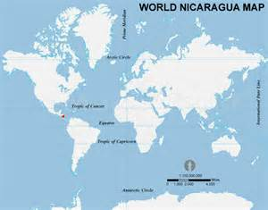 Nicaragua World Map by Nicaragua Location Map Location Map Of Nicaragua