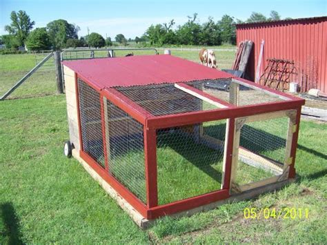 backyard chicken tractor our chicken tractor backyard chickens community