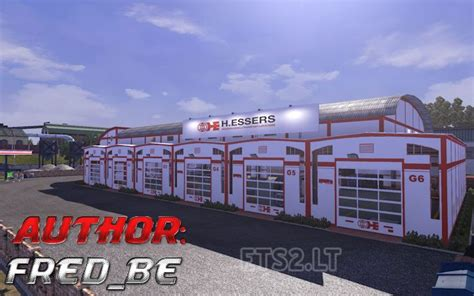 custom large garage ets 2 mods ets2downloads garage custom ets 2 mods