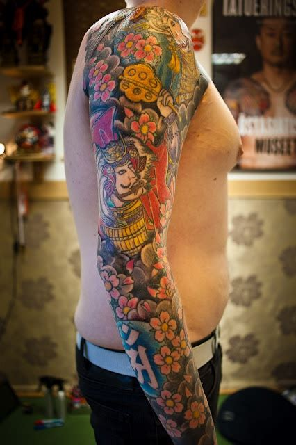 sleeve tattoo by horimatsu tatts pinterest