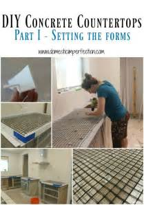 diy section 25 best ideas about concrete countertop forms on