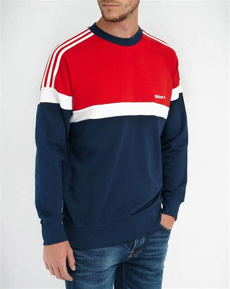 Sweater Adidas March Zipper and blue hoodie fashion ql