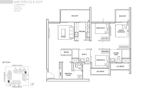 3 bedroom condo floor plan the alps residences floor plans