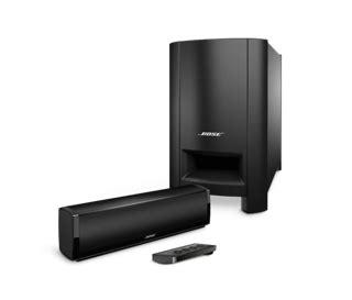 soundbar en home cinema met 1 luidspreker ondersteuning