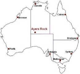 ayers rock map uluru maps