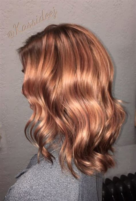 can you mix igora hair color 45 gorgeous rose gold hairstyle ideas that will change