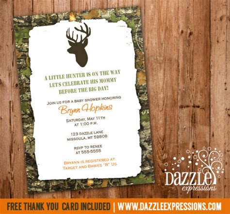 free business card templates with mossy oak mossy oak baby shower invitation camo deer