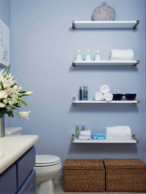 small bathroom with nice finishes diy shelves are a nice 30 amazingly diy small bathroom storage hacks help you