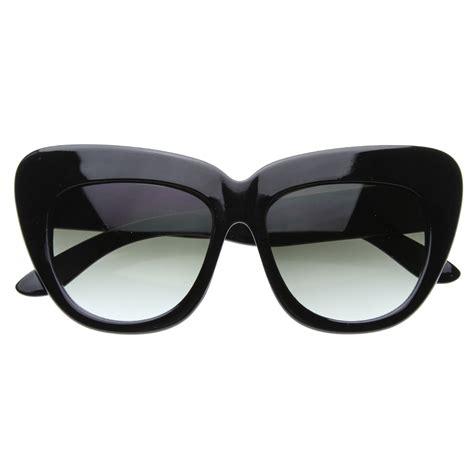 Cat Oversize Glasses new york fashion week oversize cat eye sunglasses 8300 ebay