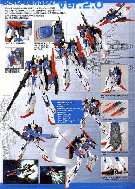 Mg 1 100 Zeta Gundam Ver 2 0 mg 1 100 zeta gundam ver 2 0 hd color bandai gundam