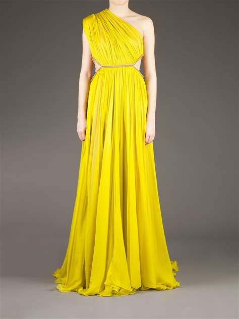 lucia hohan keisha dress in yellow lyst