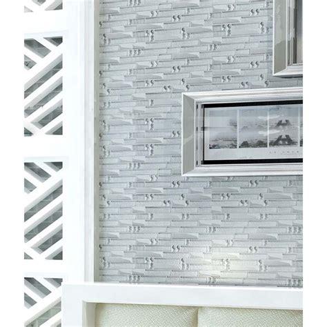 stainless steel mosaic tile backsplash metal glass mosaic bath wall silver stainless