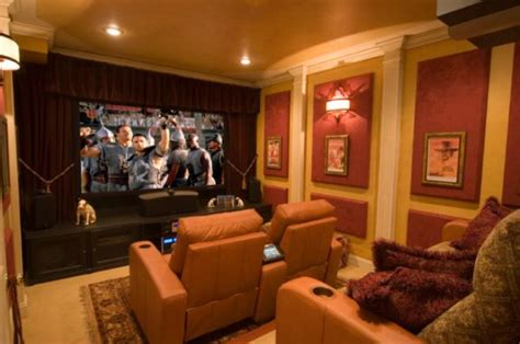 home theater interiors 15 beautiful and stylish home theatres