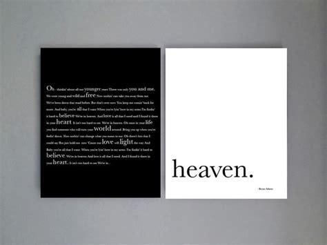 Wedding Song Heaven by Bryan Song Lyrics Wedding Song Lyrics Anniversary