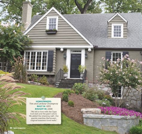 curb appeal show grey cottage trim via hgtv mag hgtv quot curb appeal