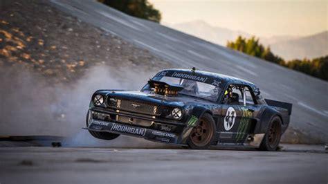 Gymkhana 7 Car Wallpaper by It Ken Block Tears Up La In 845 Hp Mustang In