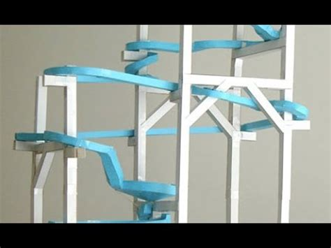 how to make a roller coaster in your backyard how to make a marble rollercoaster youtube