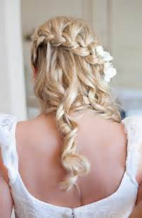 plait at back of hairstyle beautiful waterfall braid hairstyles for wedding back