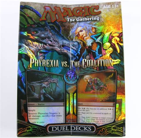 magic decks kaufen mtg duel decks phyrexia vs the coalition englisch