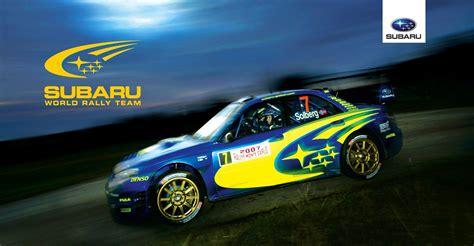 Team Subaru by Designreligion Subaru World Rally Team Portfolio