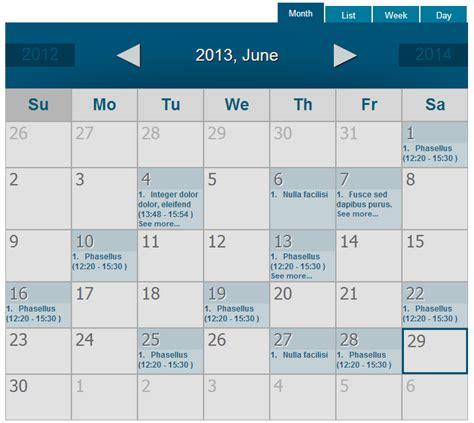 calendar wd responsive event calendar plugin