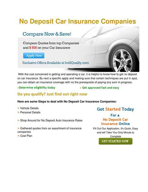 Monthly Car Insurance by Monthly Car Insurance With No Deposit By Jacks Smith Issuu