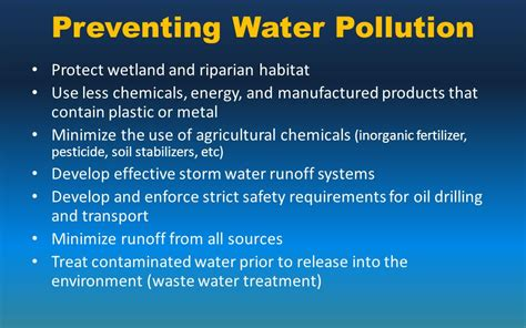 How To Prevent Water Pollution Essay by Preventing Pollution