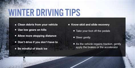 8 Tips On Driving Safe In Snow by Emergency Management Planning Principles Winter Weather