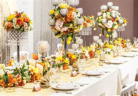 Weddingku Concierge by Perpaduan Cantik Warna Tangerine Dan Yellow Color Combos
