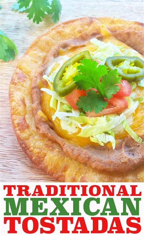 traditional recipes traditional mexican tostadas with refried beans cherry