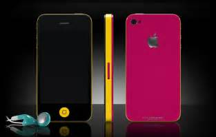 colored iphones through colorware customize iphone 4 color gadgetsin