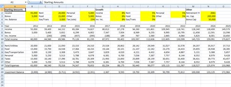 the smart nickel retirement planning excel sheet