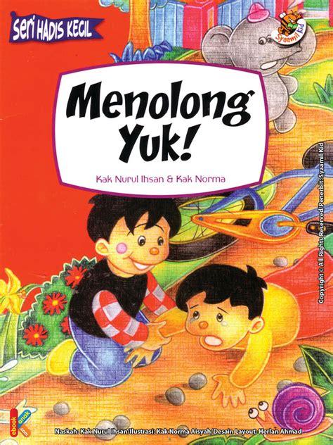 Buku Makan Dong Sayang gratis ebook seri hadist kecil menolong yuk ebook anak