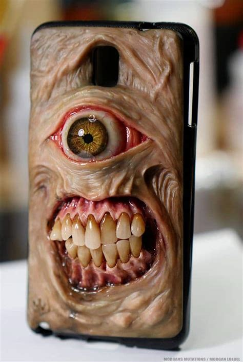 Creepy Horror iPhone Cases Will Ring Up Nightmares with Each Call