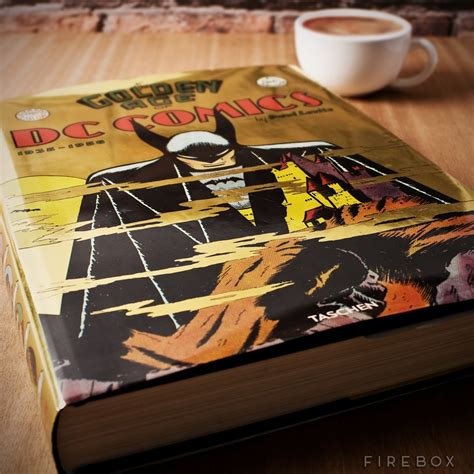 comic book coffee table dc comics golden age 1935 1956 coffee table book